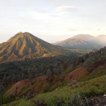 Omgeving bij Ijen vulkaan