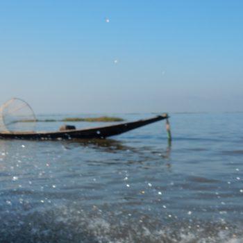 Vissers op Inle Lake