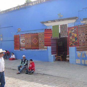Tapijten te koop in Oaxaca