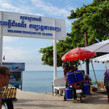 Serendipity Pier, op weg naar Koh Rong Sanloem