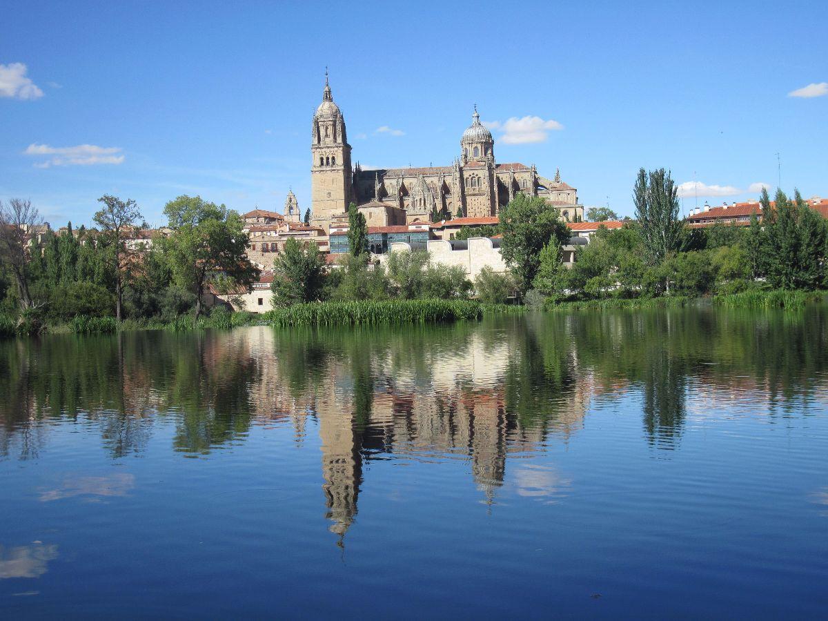 Salamanca, vanaf de Río Tormes