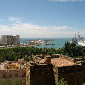 Uitzicht vanaf het Alcazaba