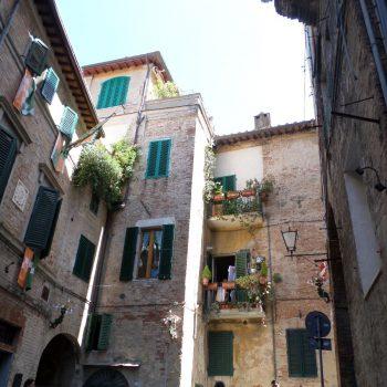 Leuke straatjes en mooie Italiaanse gebouwen