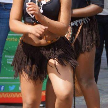 Dansers bij V&A Waterfront