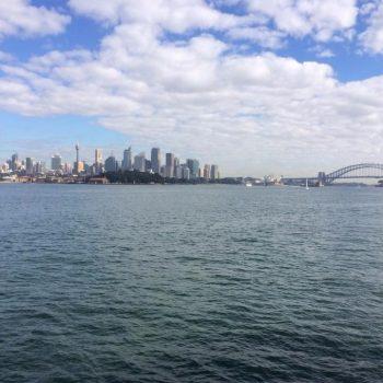 met de boot naar Manly Beach of naar Sydney toe vanuit Manly Beach