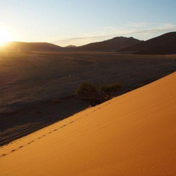 Zonsopkomst vanaf Dune45