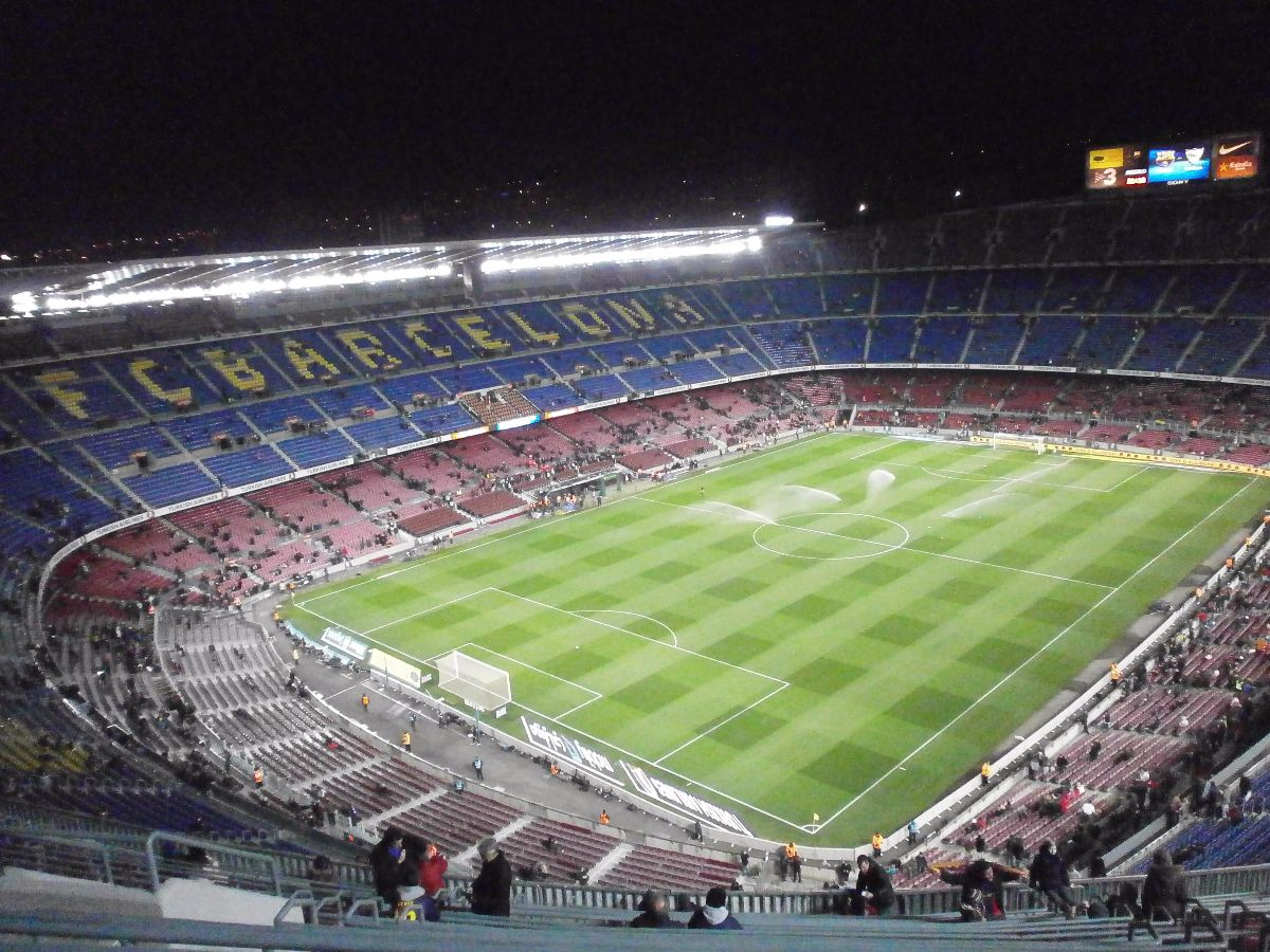 Camp Nou, FC Barcelona - Sevilla