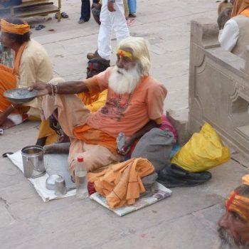 Sadhu bij de Ganges