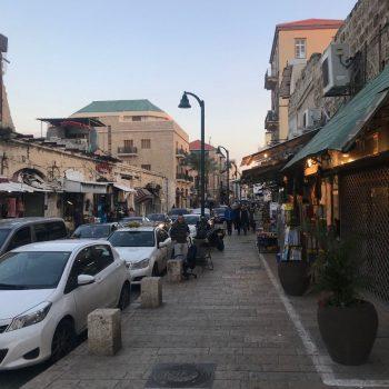 Straat nabij Jaffa