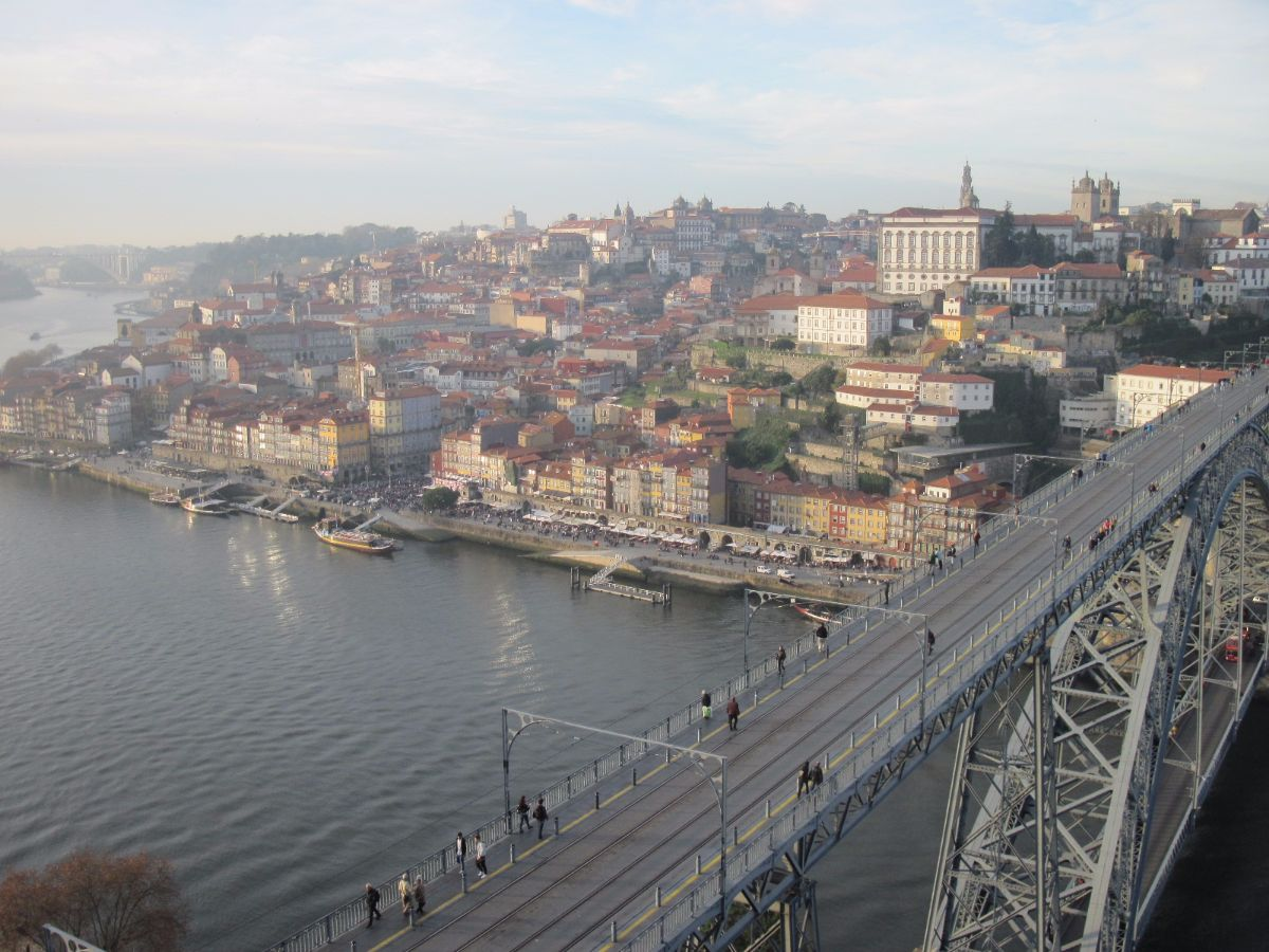 Uitzicht over Porto