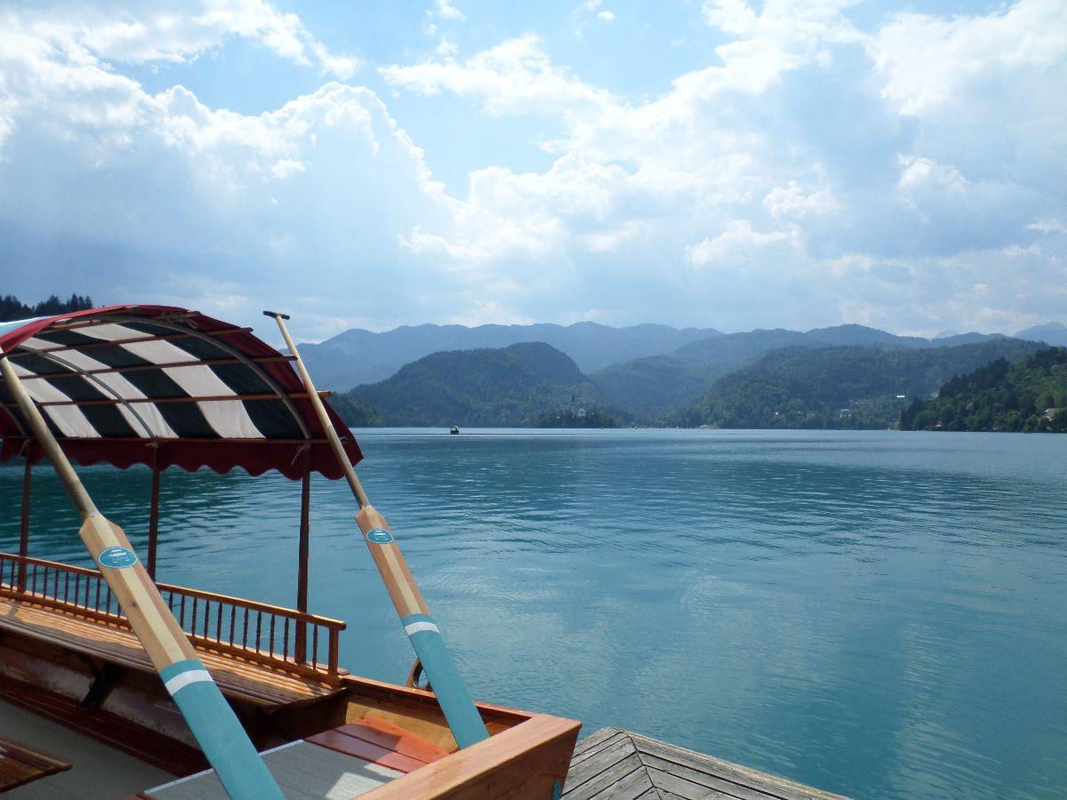 Het meer van Bled.