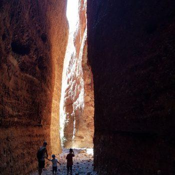 Echidna Chasm in Purnululu National Park
