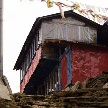restaurant/guesthouse in de Himalaya