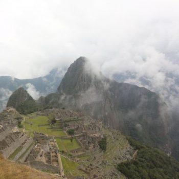 Machu Picchu 's ochtends vroeg