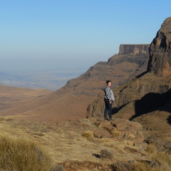 uitzicht vanaf Drakensbergen