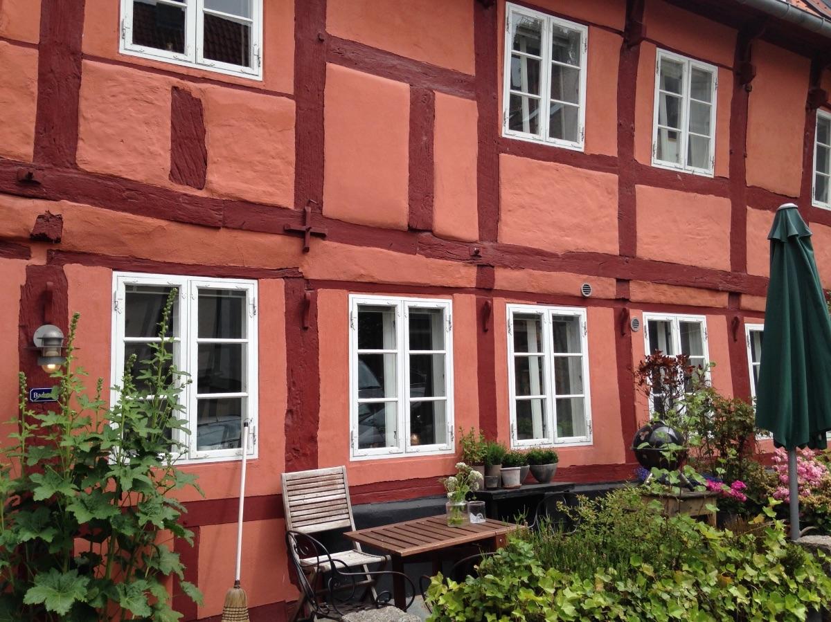 Prachtige huizen in Arhus