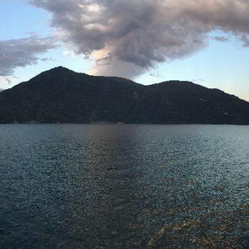 Lago Maggiore uitzicht van Italië op Zwitserland