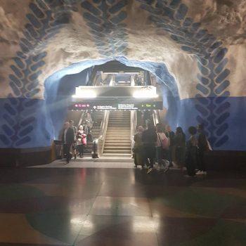 Een metrostation