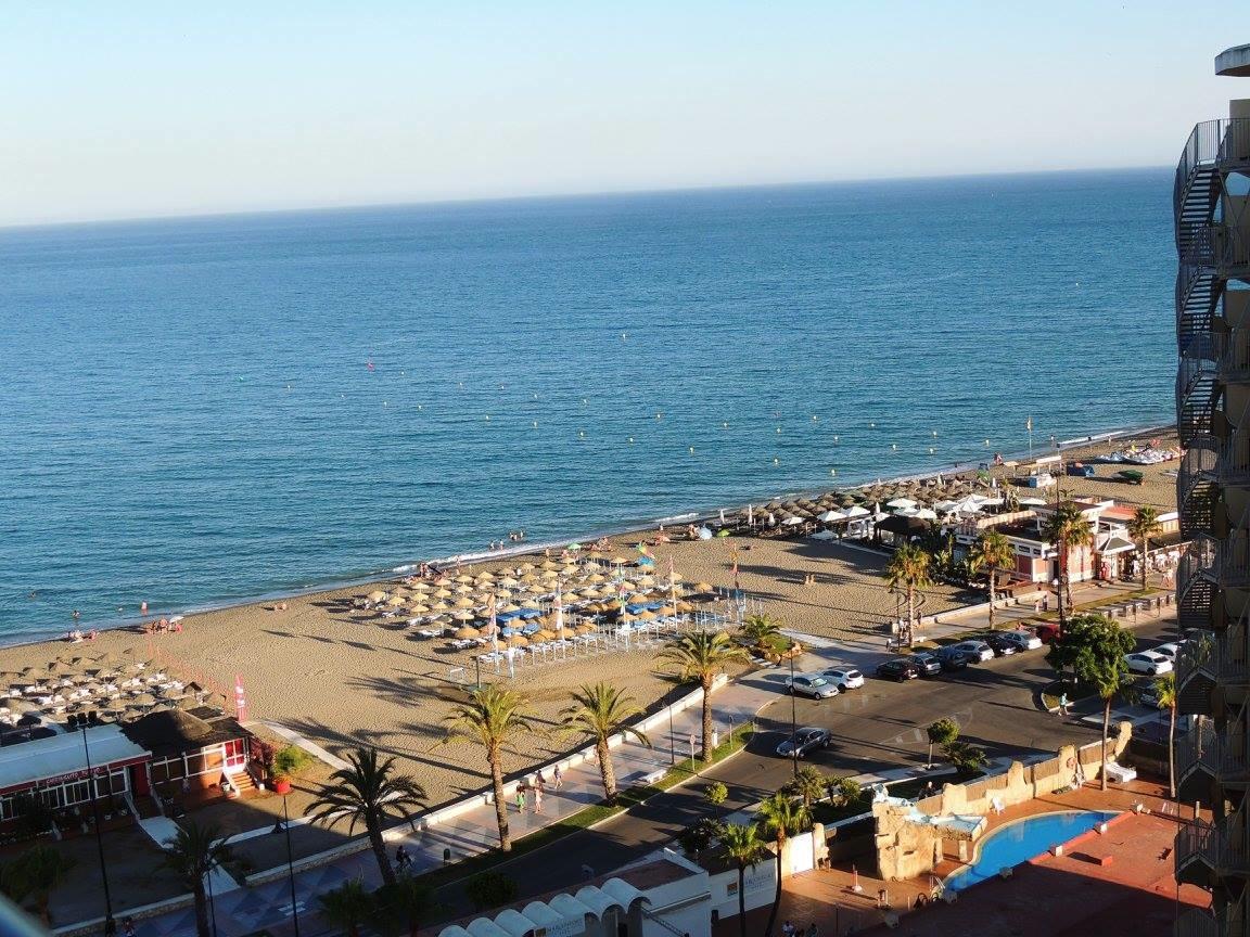 Uitzicht hotel op strand