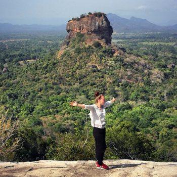 bovenop de Pidurangala rock