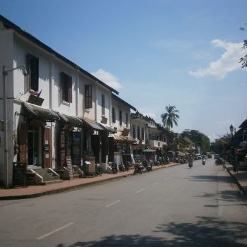 Hoofdstraat van Luang Prabang