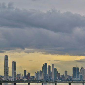 Skyline Panamá stad