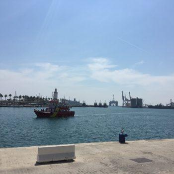 Haven van Malaga.
