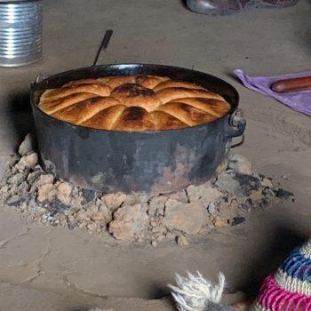 Traditioneel gebakken brood