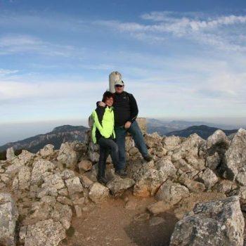 Uitzicht over west Mallorca vanaf de Galatzo!