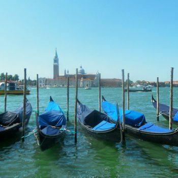 Vissersboten in Venetië
