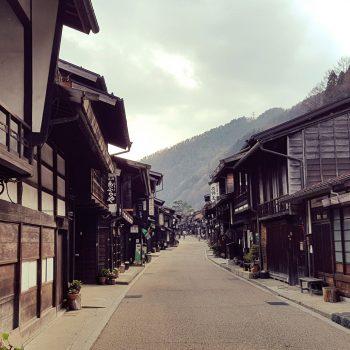 Narai, een historisch dorpje in Kiso Valley