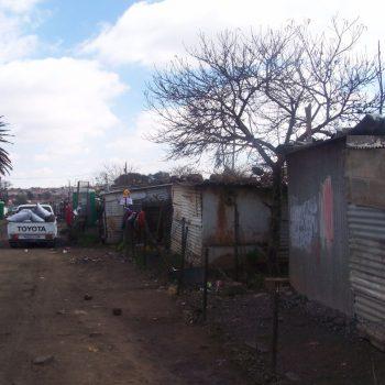 wandeling door Soweto township