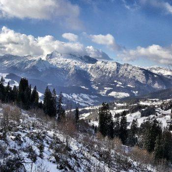 Manigod skigebied