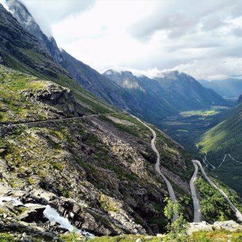 Noorwegen. Trollstigen. Go up and down!