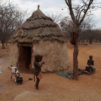 Huisjes van de Himba's