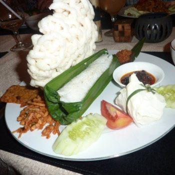 Heerlijk eten in indonesie!
