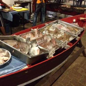 Versgevangen vis 'savonds op de BBQ