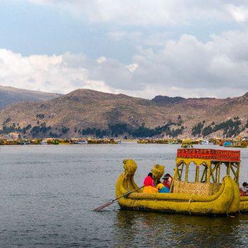 Titicacameer bootjes