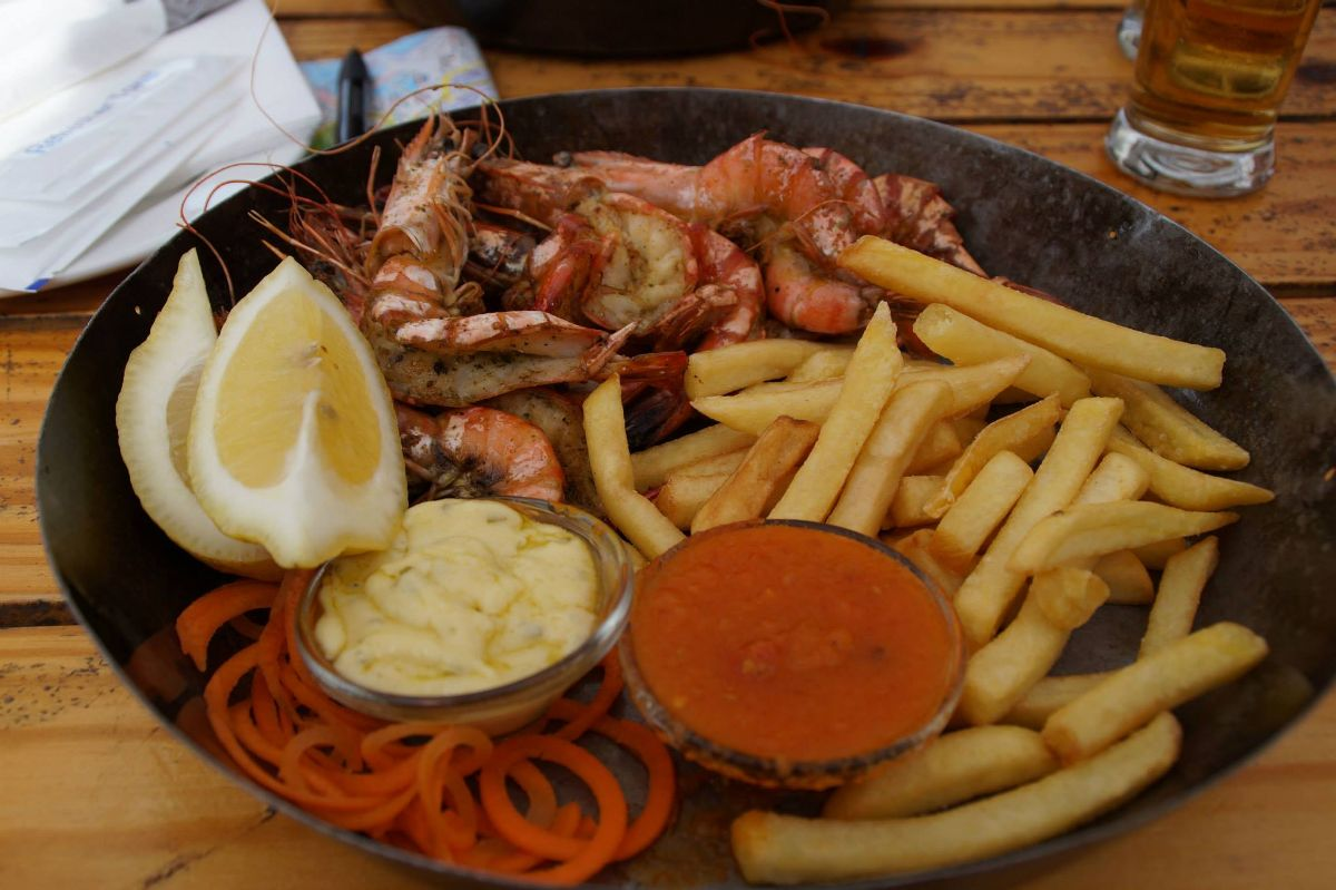 Lunch bij 4Quay V&A Waterfront