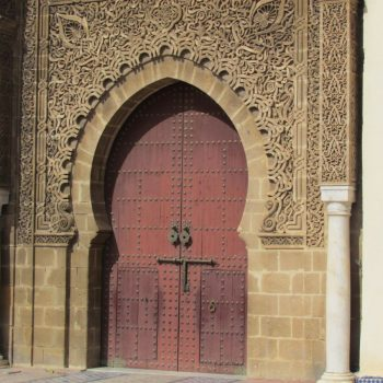 Entree mausoleum Moulay Ismael