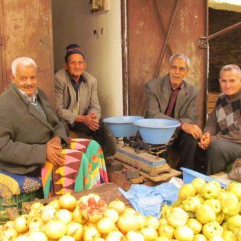 In de souk van Meknes