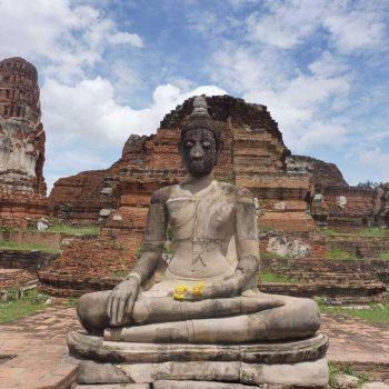 Oude tempel in Ayyuthaya