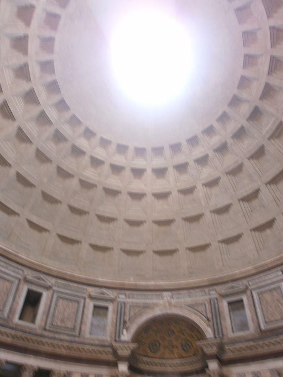 Pantheon, kijk omhoog