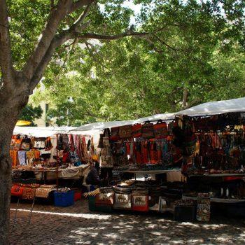 Marktje in Kaapstad
