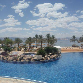 strandvakantie in een woestijnland