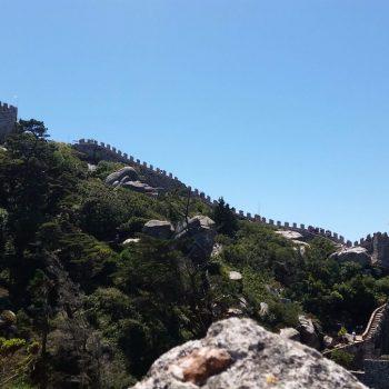 Castelo de Mouros in Sintra