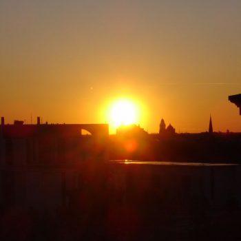 Uitzicht van de Reichstag