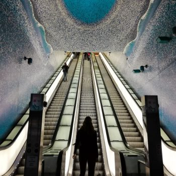 Toledo metrostation Napels