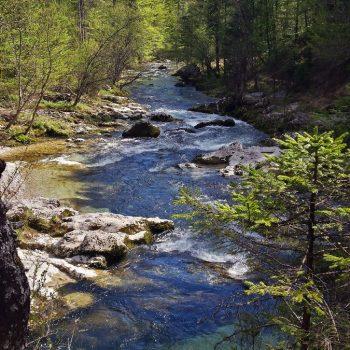 Voje valley - Mostnica Gorge (bij het Bohinj lake)