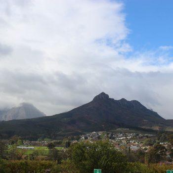 De bergen bij Stellenbosch